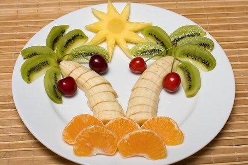 Красивый фруктовый салат рецепт