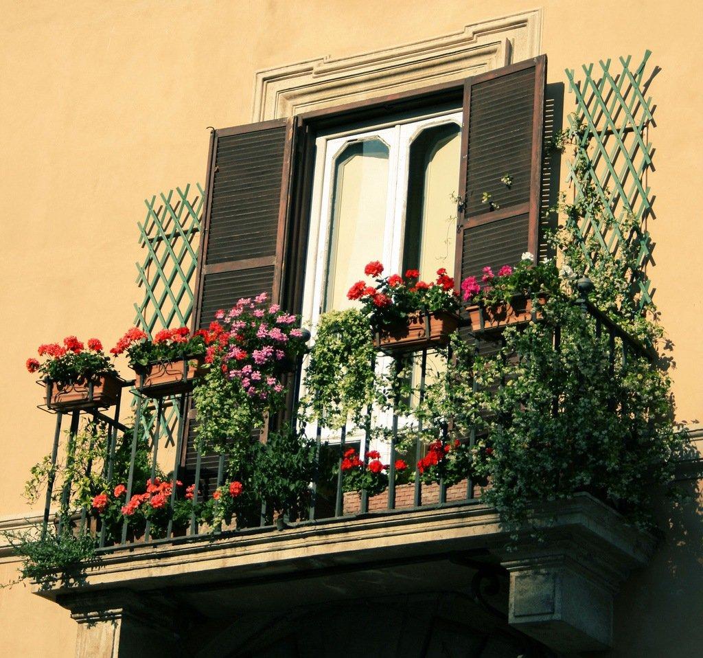 Французский балкон - фото лучших идей оформления балкона в ф.